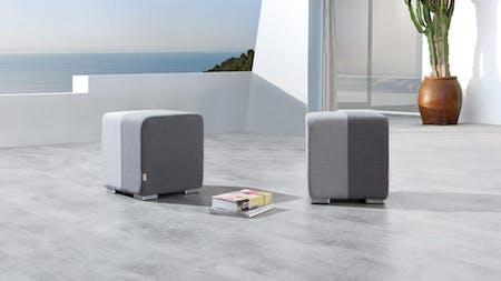 Mood Outdoor Fabric Ottoman