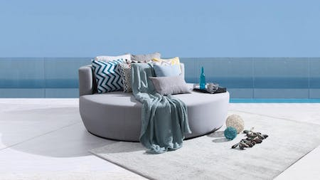 Cloud Outdoor Fabric Daybed