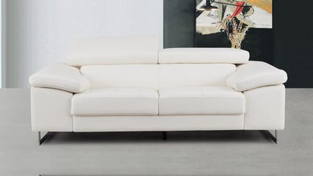 Boston Leather Two Seat Sofa