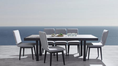 Invini 7-piece Outdoor Dining Set With Kroes Chairs