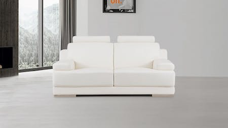 Romeo Leather Two Seat Sofa