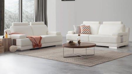 Romeo Leather Sofa Suite 3 + 2
