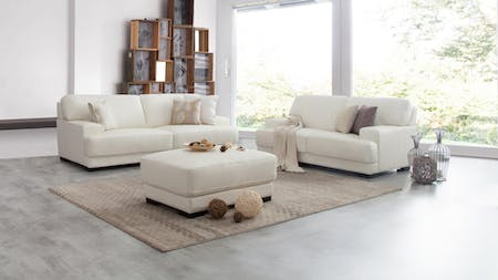 Volante Leather Sofa Suite 3 + 2