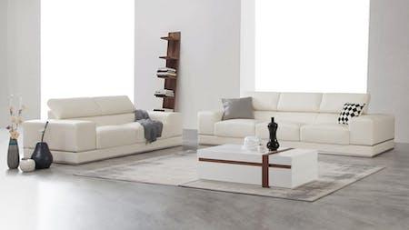 Napoleon Leather Sofa Suite 3 + 2