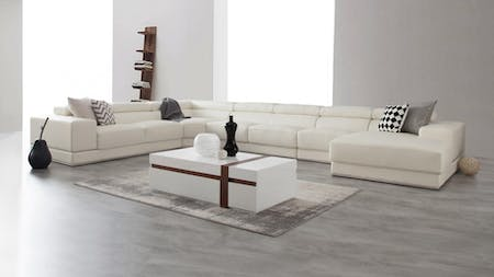 Napoleon Leather Modular Lounge Option B