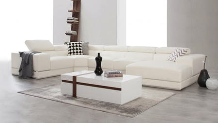 Napoleon Leather Modular Lounge Option C