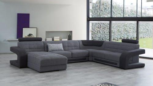 Casanova Fabric Modular Lounge Option A