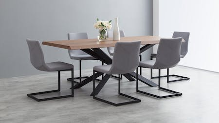 Amsterdam Dining Set 7-piece