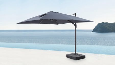 Sanctuary Outdoor Cantilever Umbrella