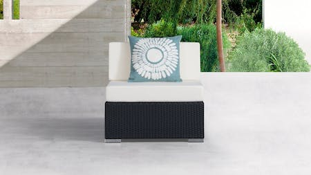 Moda Outdoor Wicker Armless Module