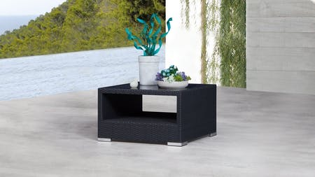Moda Outdoor Wicker Square Coffee Table