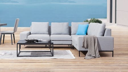 June Outdoor Corner Lounge With Coffee Table