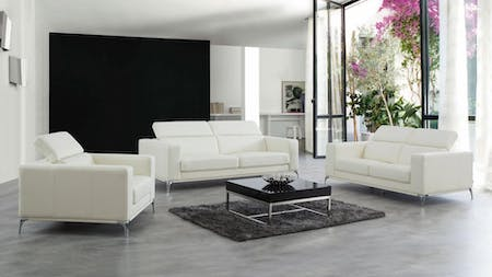 Club Leather Sofa Suite 3 + 2 + 1