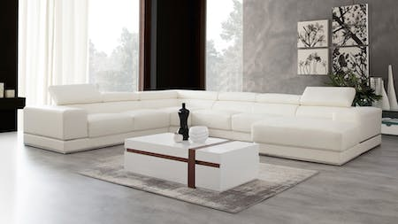 Napoleon Leather Modular Lounge Option A