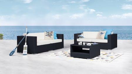 Moda Outdoor Sofa Suite 2 + 2