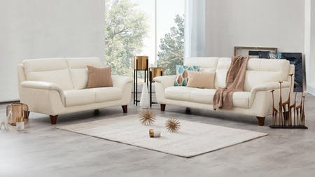 FELIX Leather Sofa Suite 3 + 2