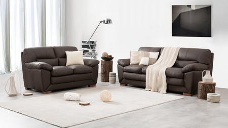 LOUIS Leather Sofa Suite 3 + 2