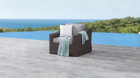 Canyon Outdoor Wicker Armchair