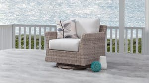 Savannah Outdoor Wicker Rocker Chair