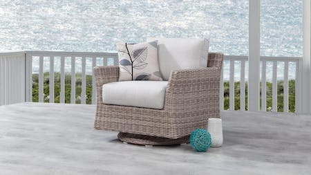 Savannah Outdoor Wicker Rocker Chair
