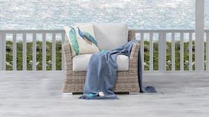 Savannah Outdoor Wicker Armchair