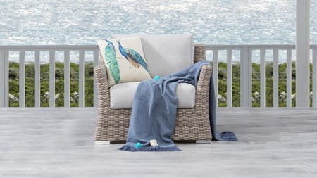 Savannah Outdoor Wicker Armchair