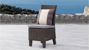 Canyon Outdoor Wicker Dining Chair - Set of Two