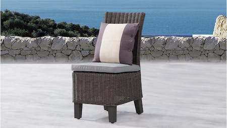 Canyon Outdoor Wicker Dining Chair (set of 2)