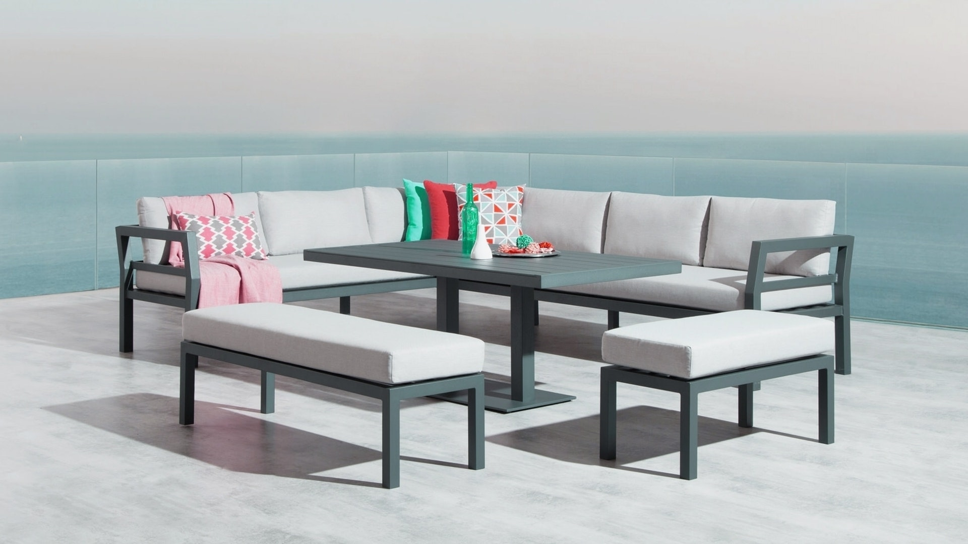 bondi outdoor loungedining combo - Furniture Bondi