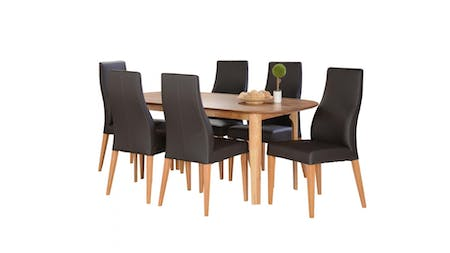 BAHAMAS Dining Set 7-piece