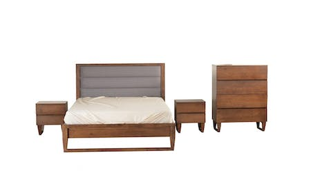 TAHITI King Bedroom Suite 4-Piece With Tallboy