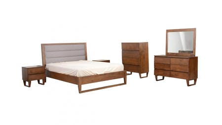 TAHITI Queen Bedroom Suite 5-piece