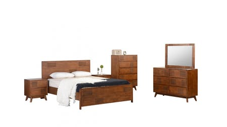 NEW DELHI Queen Bedroom Suite 5-piece