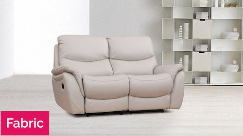 Richmond Fabric Recliner Two Seater Sofa
