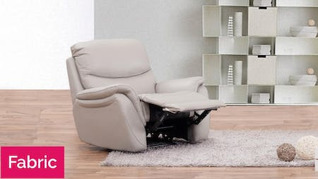 Richmond Fabric Recliner Armchair