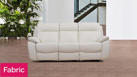 Berkeley Fabric Recliner Three Seater Sofa
