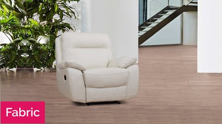 Berkeley Fabric Recliner Armchair