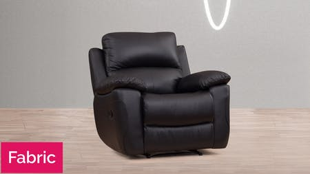 Balmoral Fabric Recliner Armchair