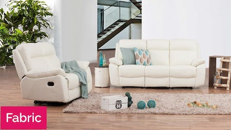 Berkeley Fabric Recliner Sofa Suite 3 + 2