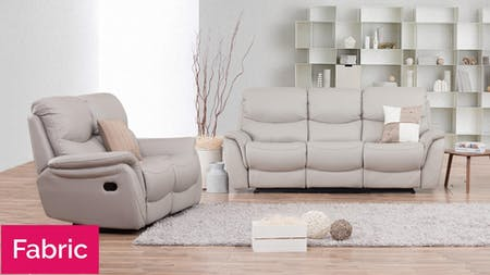 Richmond Fabric Recliner Sofa Suite 3 + 2