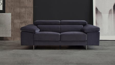 Boston Fabric Two Seat Sofa
