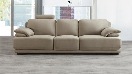 Juliet Fabric Three Seat Sofa