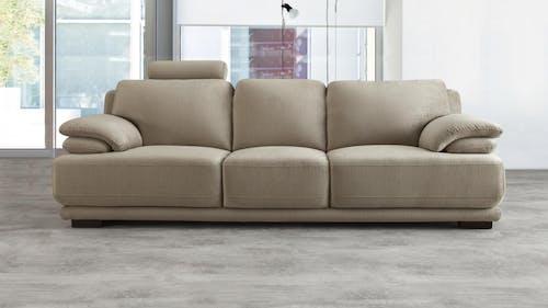 Juliet Fabric Three Seat Sofa