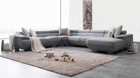 Lexington Fabric Modular Lounge Option A