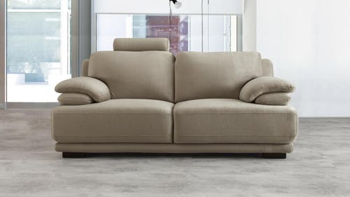 Juliet Fabric Two Seat Sofa