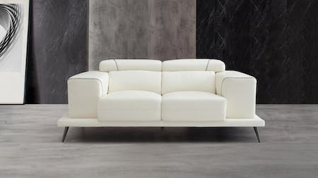 Laurence Leather Two Seat Sofa