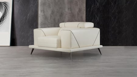 Laurence Leather Armchair