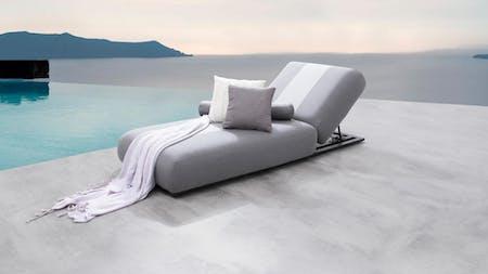 Joy Outdoor Fabric Sun Lounge