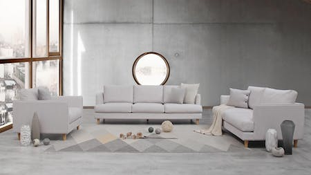 Stellar Fabric Sofa Suite 3 + 2 + 1