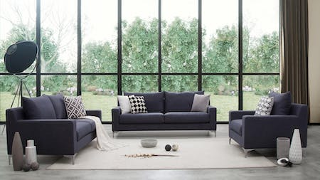 Apollo Fabric Sofa Suite 3 + 2 + 1